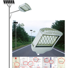 50W Solar Street Light, casa ou exterior usando lâmpada solar, Solar LED Garden Lighting