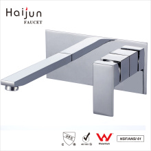 Haijun Quality Assurance Modern Health Single Handle Wall Mount Basin Faucet