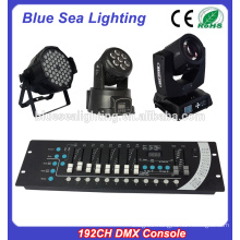 Hotsale good price stage light 192CH dmx console