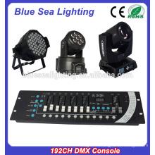 Hotsale хорошая цена этап свет 192CH консоли DMX
