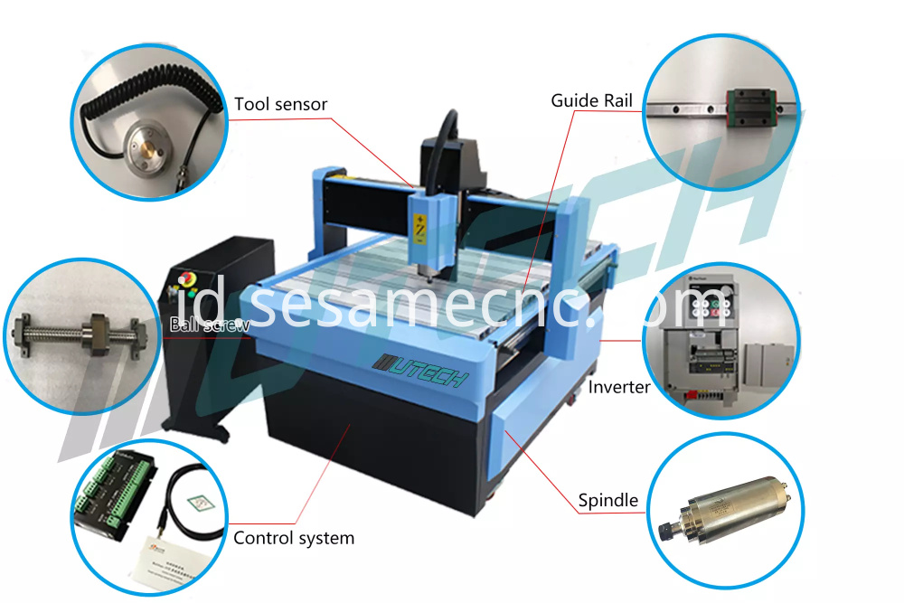 6090 CNC Router Machine For Aluminum