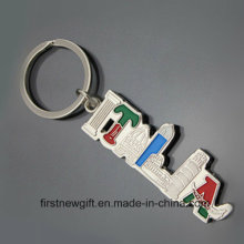 Italien-Andenken-Geschenk-Ausflug Produkt-Schlüsselring Kundengebundene Schlüsselkette (F1423)