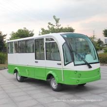 Сертификат CE 14 мест Электрический мини-автобус с закрытыми жесткие двери (ДУ-от 14f)