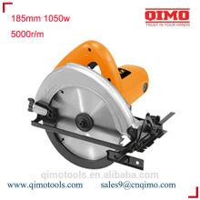 Hoja de sierra circular afiladora 185mm 1050w 5000r / m qimo herramientas eléctricas