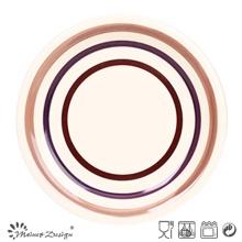 Plaque en céramique 3 cercles