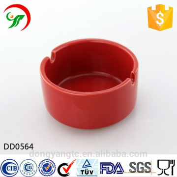 Wholesale glazed ceramic ashtray manufactured in china