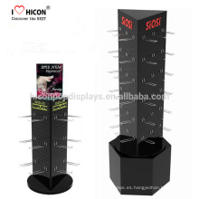 One Stop Marca Marketing Solución de la Solución Floor Spinner Display Racks Free Standing Pegboard Display Stand
