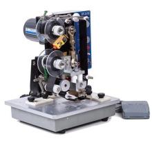 HP241B coding machine  print expiry date use hot stamping foil ribbon 25mm*1100m black
