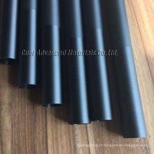 poteaux de vide de gouttière de fibre de carbone pour le nettoyage de toit / poteaux de gouttière télescopiques de fibre de carbone