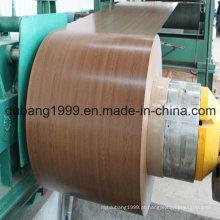 PPGI com exportação de design de madeira para Hangkong