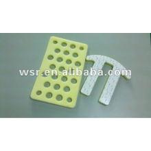 piezas adhesivas de goma / hoja de goma / espuma / componentes de esponja