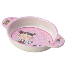Melamine Children′s Salad Bowl with Ears (HF2004) 100%Melamineware