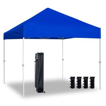 Menards de carpa plegable de 10x10 patas rectas rey