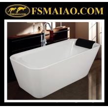 Shinning blanc baignoire acrylique qualifié sanitaires (9011)
