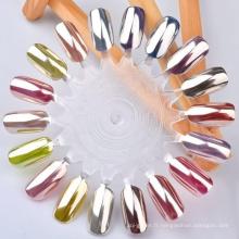 Pigment à effet miroir pour ongles, pigment au chrome pour ongles, pigment au chrome pour miroir