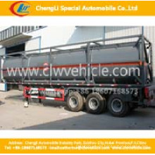 Asme 20feet ISO Chemical Container Trailer Basis Öl Tank Container Anhänger
