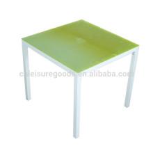 Открытый ресторан в саду мебель высокого качества квадратный обеденный стол квадратный обеденный стол