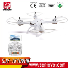 Hot sale Skytech TK109HW 2.4G 4CH WiFi FPV rc drone With 720P WiFi FPV high lock rc quadcopter SJY-TK109HW