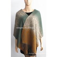 Bufanda acrílica en color degradado Jacquard