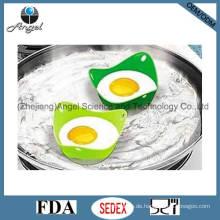 Silikon-gebratene Ei-Form Eierhalter mit Dreieck-Form Se05