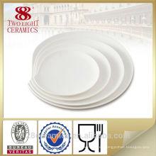 Placas de cerámica reales al por mayor del restaurante, plato de la placa de China del restaurante