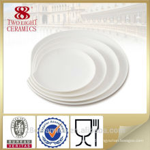 Wholesale royal ceramic restaurant plates, restaurant china plate dish
