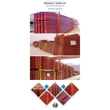 Material del sobrecalentador de servicio de caldera para coque de petróleo