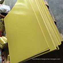 3240 Yellow Epoxy Glass Fiber Laminate Sheet