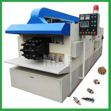 Automatic mixer motor rotor varnish plant