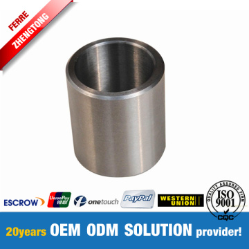 CNC Machining Tungsten Carbide Shaft Lengan Bushing