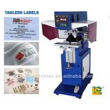 2 color garment tagless pad printer