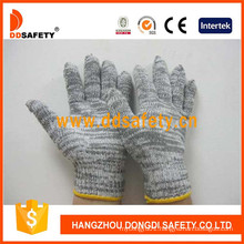 7 Gauge Cotton Polyester String Knitted Working Gloves Dck515