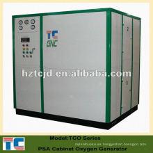 Portátil de presión de oscilación de adsorción de oxígeno de gas de la planta de los fabricantes