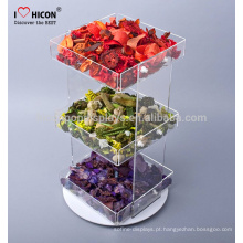 Construa uma experiência de marca convincente para sua loja Candy Shop Countertop Clear Acrylic Trays Wholesale