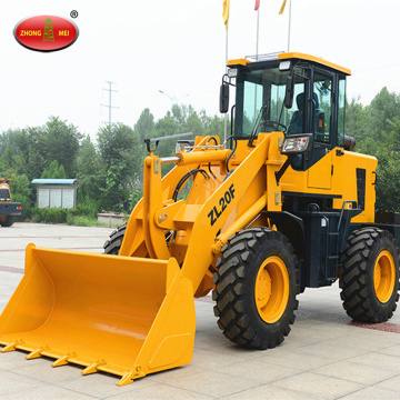 Reka bentuk baru Small 2t Hydraulic Wheel Loader
