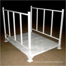 Para escada empilhável empilhável de tela pesada industrial