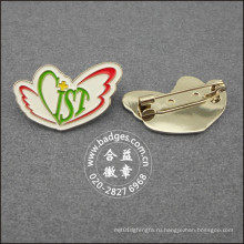 Выдвиженческий Покрынный значок, изготовленный на заказ pin отворотом (GZHY-ЛП-091)