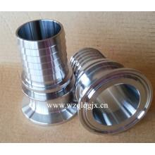 Connecteur sanitaire Couvercle de raccordement de tuyau en acier inoxydable