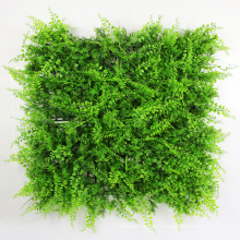 Wholesale artificial outdoor grass privacy hedge screen