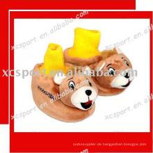 Weicher Baumwoll-Baby-Sockenschuh