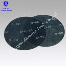 """5 """"/ 6"""" 40-320 # óxido de aluminio MATERIAL GRUESO Plancha abrasiva redonda"""