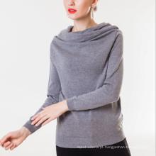 17 PKCS195 2017 malha de lã cashmere malha camisola da senhora