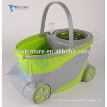 new big bucket spin mop and twist spin bucket mop with wheels