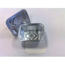 Recipiente de folha de alumínio lubrificado flexível para embalagem de alimentos da companhia aérea