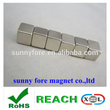 10x10x10mm nickel revêtement aimants lowes