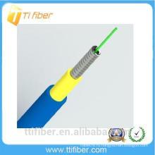 Бронированный волоконно-оптический кабель Simplex G652D с курткой из ПВХ