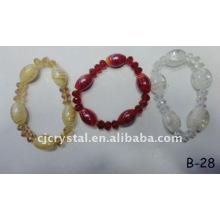 Bracelet en perles de cristal