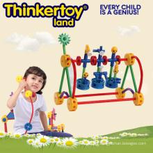 Bricolage brinquedo brinquedo puzzle de construção para 3-6 crianças
