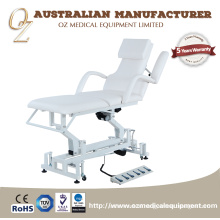White Color high quality hospital furniture and equipment treatment Bed