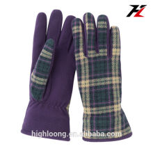 Fancy Women Fleece Winter Glove